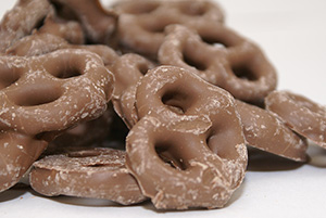 Chocolate Pretzels - 12 oz Bag