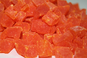 Diced Papaya - 1 lb Bag