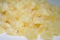 Diced Pineapple - 1 lb Bag