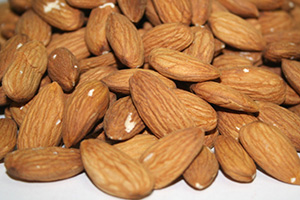 Natural Whole Almonds - 1 lb Bag