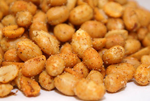 Hot & Spicy Peanuts - 1 lb Bag