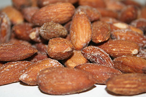 Roasted & Salted Almonds - 1 lb Bag