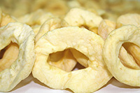 Dried Apple Rings - 12 oz Bag