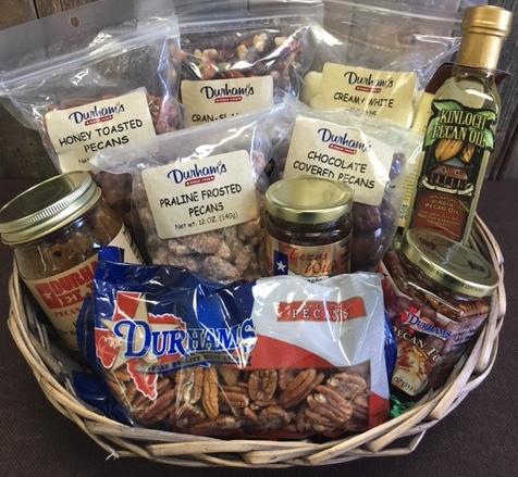 Texas Hodgepodge Gift Basket